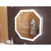 Зеркало с подсветкой для ванной комнаты Тревизо