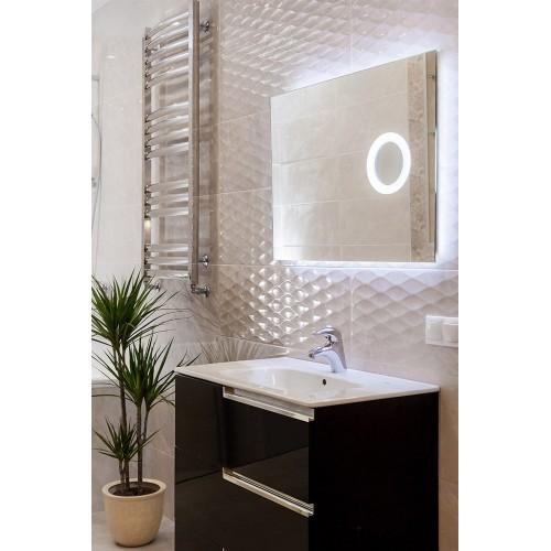 Зеркало в ванную комнату с внутренней подсветкой Ханна