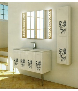 Зеркало в ванную с подсветкой Кеннеди